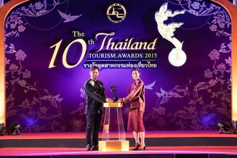 Tourism Authority of Thailand Award 2015