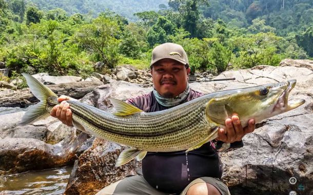 Fly Fishing in Laos - a Pike?